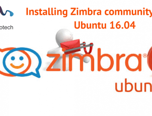 Installing Zimbra community 8.7 on Ubuntu 16.04