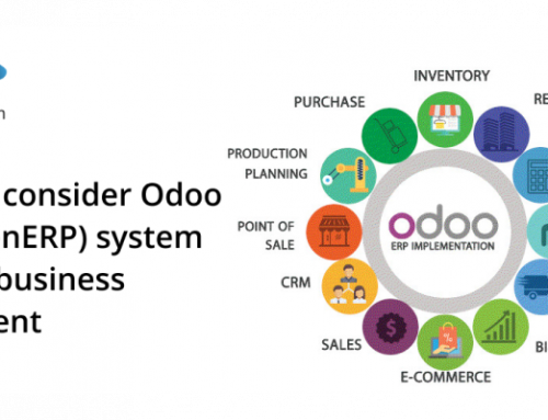 Why you consider Odoo ERP (OpenERP) system for your business requirement