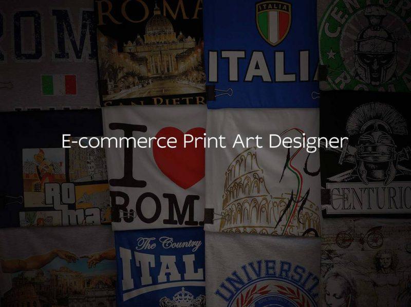 E-Commerce Print Art Designer