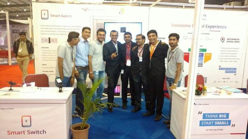 Silent Infotech Team at Vibrant Gujarat