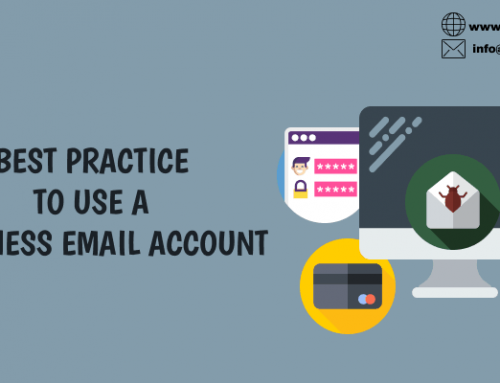 BEST PRACTICE TO USE A BUSINESS EMAIL ACCOUNT