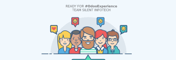 Team Silent Infotech participates Odoo Experience 2020