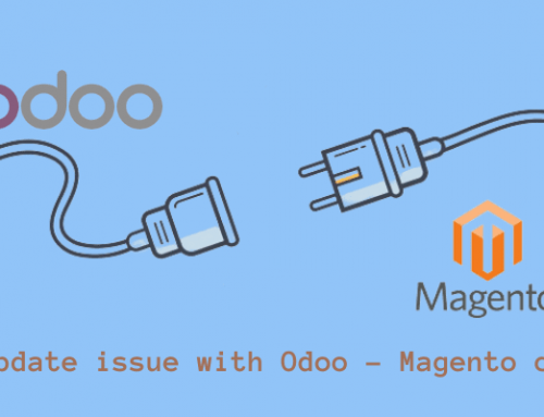 Issue with Odoo – Magento Connector