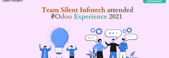 Silent Infotech Team attends Odoo Experience 2021